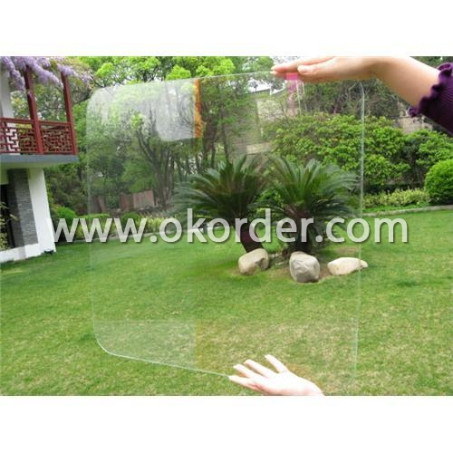 AR coated glass for shopwindows, showcase display, exhibition cabinets, etc.