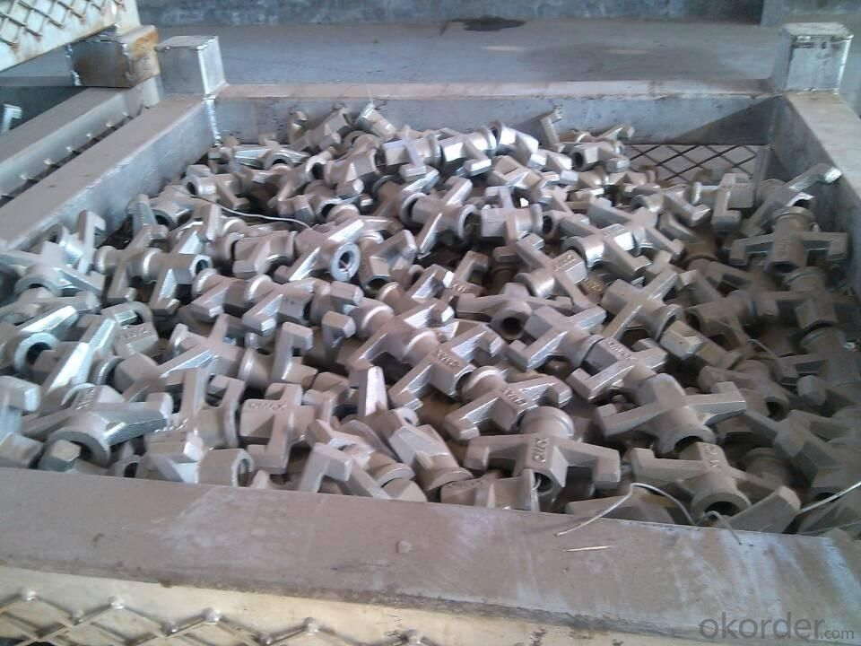 Hot Dipped Galvanized  Wing Nut Dia 20mm