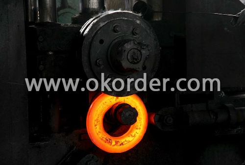 Carbon Steel Flange rolling shape