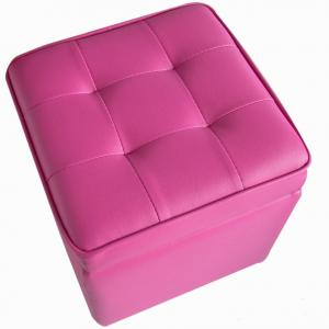 Colorful Ottomans With Storage