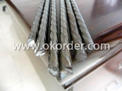 High Quality Helical Rib Steel Wire