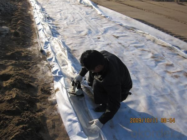 Short Fiber Nonwoven Geotextile For Road Project