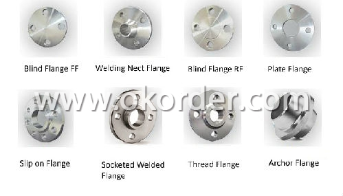 Stainless Steel flange list