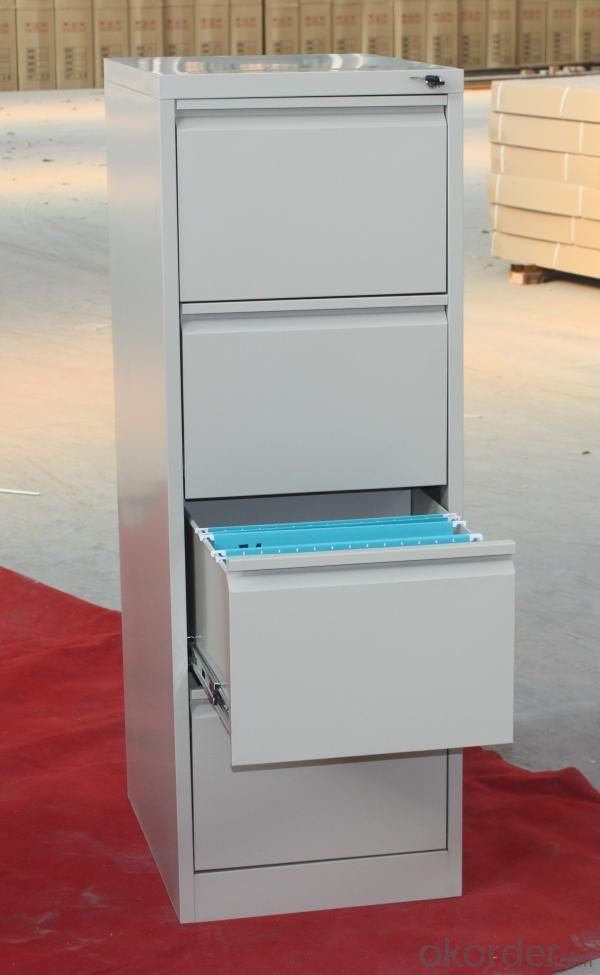 Vertical 4 Drawer Filing Cabinet CM-4D-009
