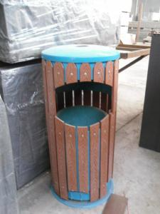 Wood Plastic Composite Dustbin CMAX S018