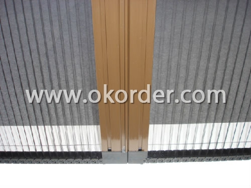 No End Bar Plisse Screen Door