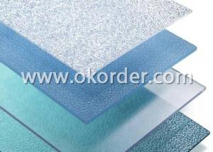 Embossed Polycarbonate Sheet With UV Protection