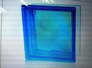 Glass Block Cloudy Blue