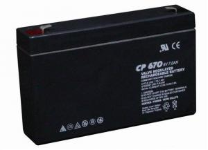 Valve Regulated Lead Acid Battery 6V/7Ah