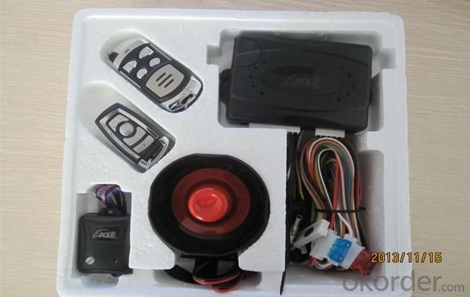 Remote Arming/Disarming Car Alarm 1887 with Automatic Door Lock/Unlock