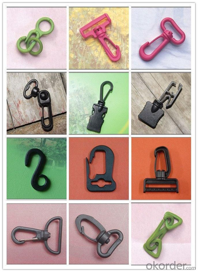 Colorful Plastic Front Release Belt Buckles