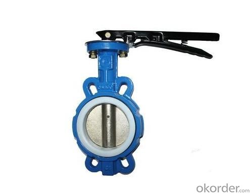 Ductile Iron Ventilation Butterfly Valve DN50--DN3000