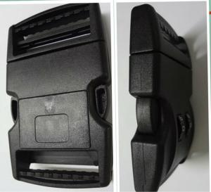 Black Fashion Plastic Side Quick Release Bag Buckles