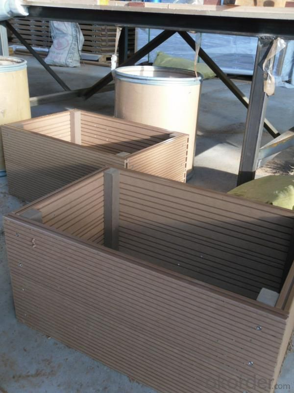 Wood Plastic Composite Flower Box CMAX N029