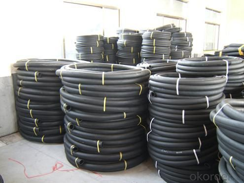 Six High-pressure Hose Wire Entanglement