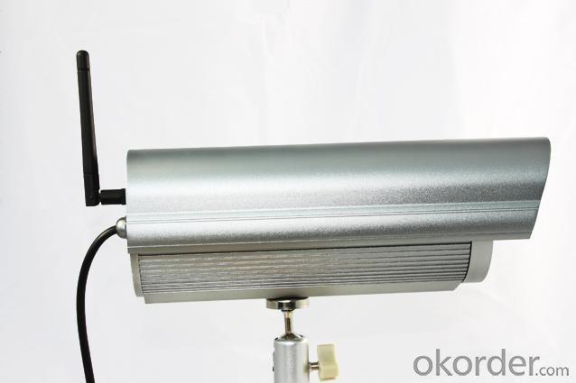 Mega Pixel wireless IP camera
