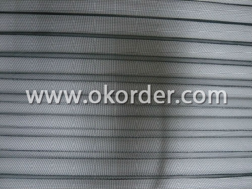 Polyester Pleated Mosquito Net