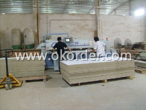 Production of L Shape Office Table