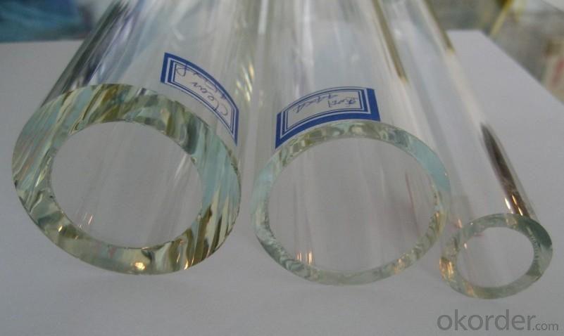 B Type U Style Quartz Tubes