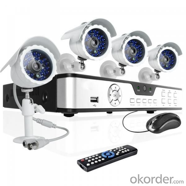 Wireless Outdoor Wifi Camera 4CH CCTV NVR System