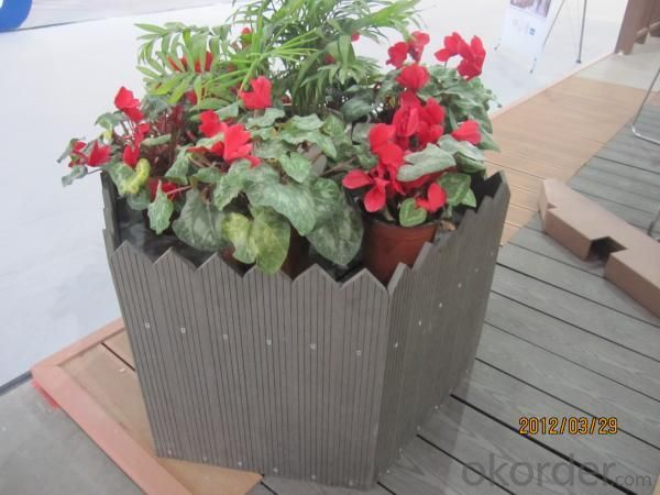 Wood Plastic Compostie Flower Box CMAX N030