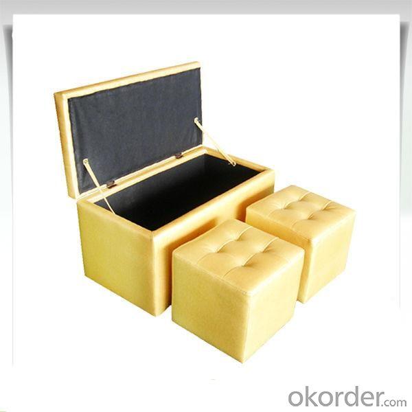 Modern Storage Ottoman