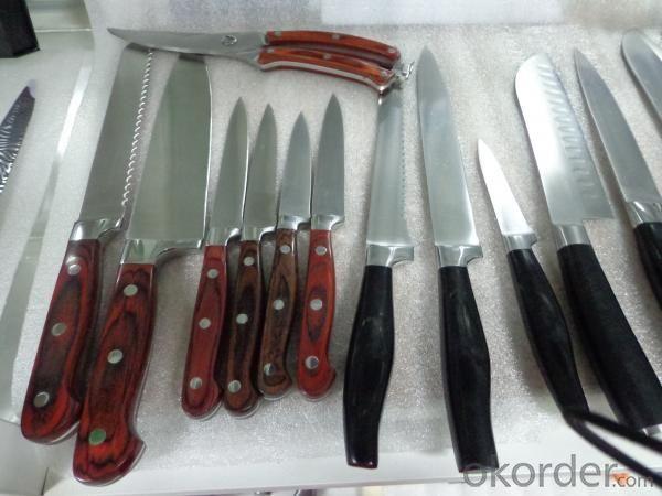 China Knives Set Hollow Handle