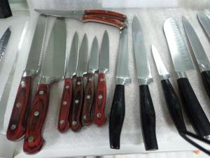China Knives Set Hollow Handle