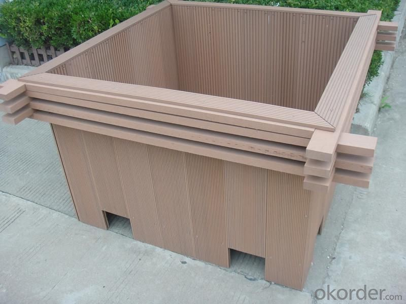 Wood Plastic Composite Flower Box CMAX N031