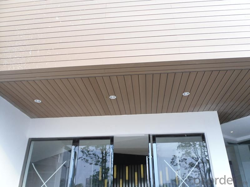 Wood Plastic Composite Wall Panel/Cladding CMAX HW138H15