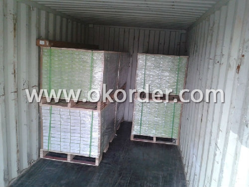 container loading of Luxury Vinyl Tile