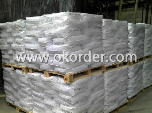 Zinc Oxide packaged with pallet
