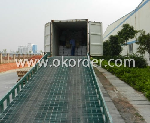 loading container of Zinc Oxide