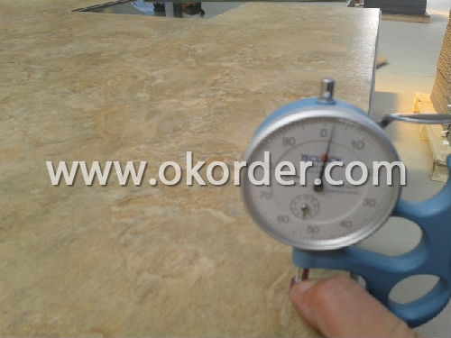 quality control of Luxury Vinyl Tile