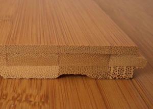 Natural Bamboo Floor Boards Vertical