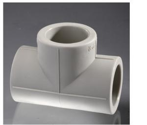 PPR Pipe Fittings (white, grey)