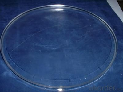Transparent Quartz Plate