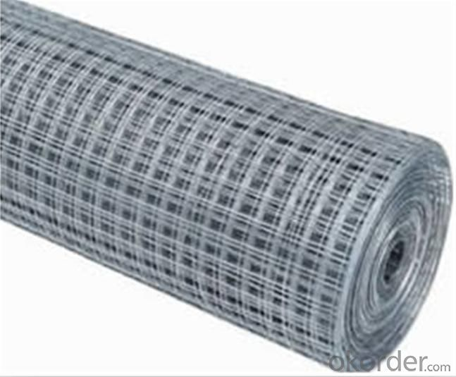 Welded Wire Mesh  wth Galvanized Finish from Manufacturer Directly