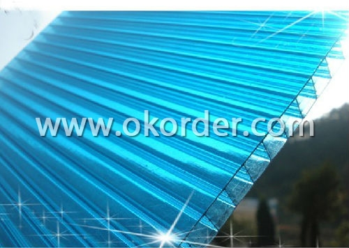 Buy Triple Wall Polycarbonate Sheet With Uv Protection And