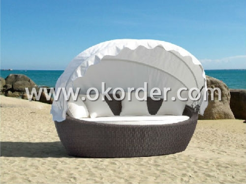 Big size round bed