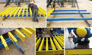 Formwork System-H20 Timber Beam With Length 2450 mm