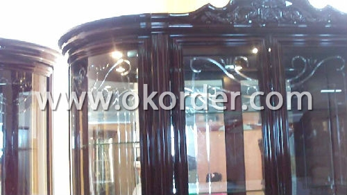 4-5-6mm engraved glass for doors, decorations,etc.