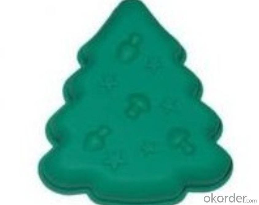 Christmas Tree Shape Silicone Cake Mold