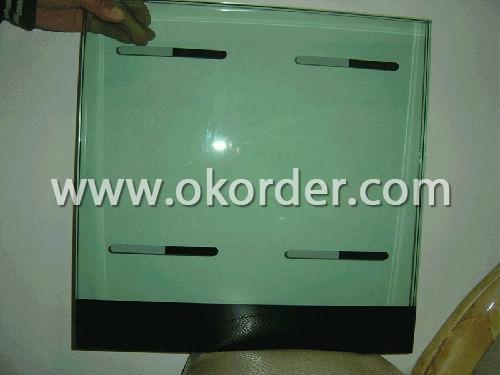 10-12-15mm silkscreen printing glass for showcase,bulletin board,building,etc.