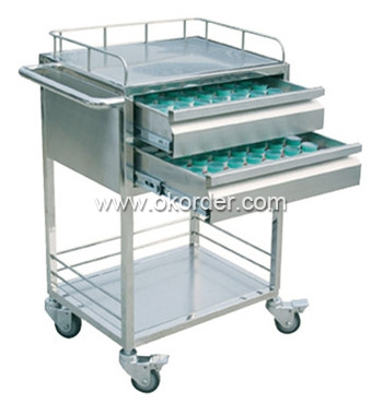 SHD-710-stainless trolley