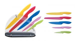3 pcs High Quality Non-stick Colorful Knife Set