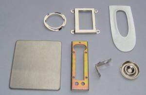 Building Metal Stamping Bracket Part Hardware 2mm