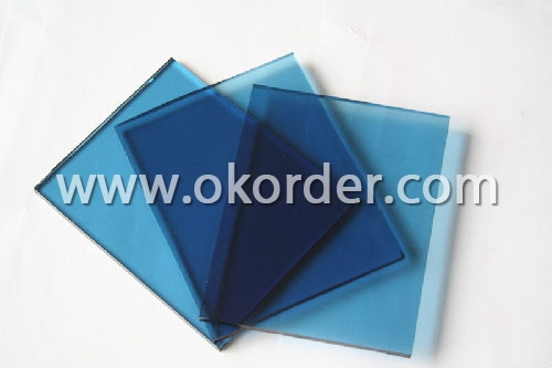 1.5-1.8mm blue sheet glass
