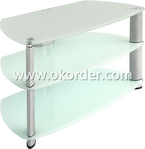 3-6mm clear acid etched glass for furniture,table, etc.