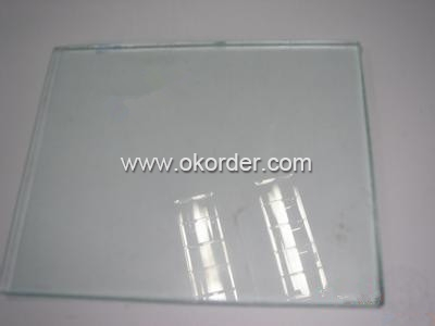 1-3mm clear sheet glass